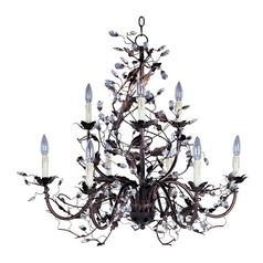 Maxim Lighting Elegante Oil Rubbed Bronze Chandelier