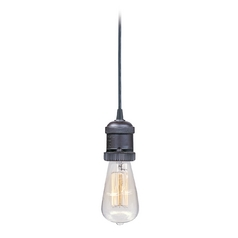 Maxim Lighting Mini Hi-Bay Bronze Mini-Pendant Light