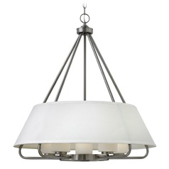 Hinkley Cole 5-Light Chandelier in Brushed Nickel