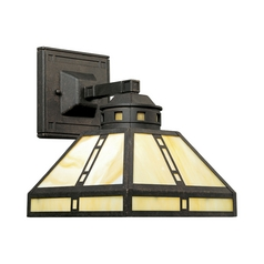 Progress Lighting Progress Craftsman Style Sconce Bronze Finish P2900-46