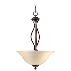 Quorum Lighting Spencer Oiled Bronze Pendant Light