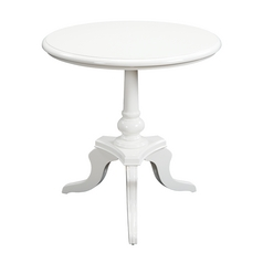 Sterling Lighting White Accent Table