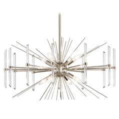 Kichler Lighting Eris Polished Nickel Chandelier