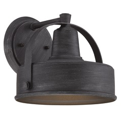Designers Fountain Portland-Ds Weathered Pewter Outdoor Wall Light