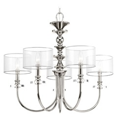 Progress Lighting March� Polished Nickel Chandelier
