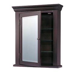 Design Classics Lighting Espresso Black Medicine Cabinet MC-066 B