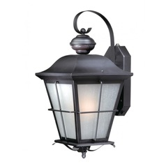 Vaxcel New Haven Oil Rubbed Bronze Outdoor Wall Light