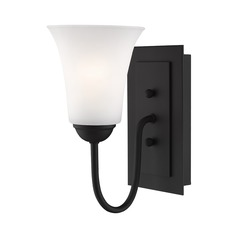 Livex Lighting Ridgedale Black Sconce