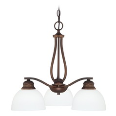 Capital Lighting Stanton Burnished Bronze Mini-Chandelier