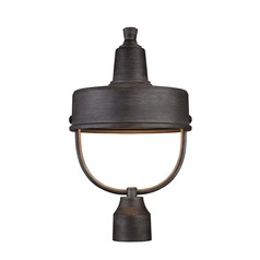 Designers Fountain Weathered Pewter Post Light