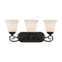 Designers Fountain Addison Oil Rubbed Bronze Bathroom Light