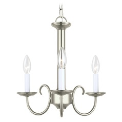 Sea Gull Lighting Holman Brushed Nickel LED Mini-Chandelier