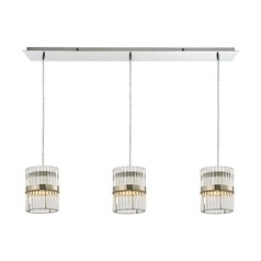Elk Lighting Nescott Polished Chrome Multi-Light Pendant