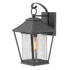 Hinkley Lighting Palmer Museum Black Outdoor Wall Light