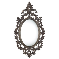Berkeley Oval 29-Inch Mirror