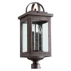 Quorum Lighting Riverdale Oiled Bronze Post Light