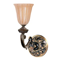 Crystorama Lighting Hot Deal French White Sconce