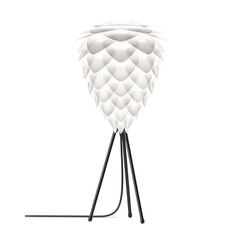 Vita Copenhagen Black Table Lamp with Abstract Shade