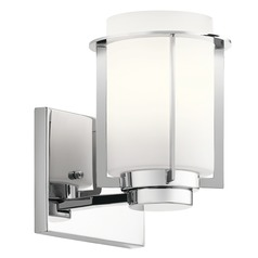 Kichler Lighting Chagrin Chrome Sconce