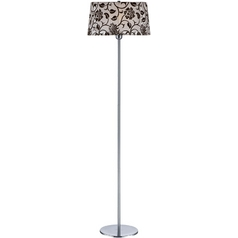 Lite Source Lighting Floria Floor Lamp with Bell Shade