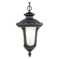 Livex Lighting Livex Lighting Oxford Black Outdoor Hanging Light 7654-04