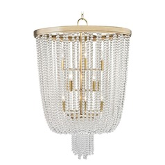 Hudson Valley Lighting Royalton Aged Brass Pendant Light