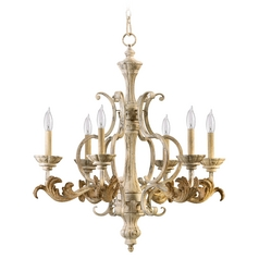 Quorum Lighting Florence Persian White Chandelier