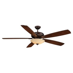 Savoy House Espresso Ceiling Fan Without Light