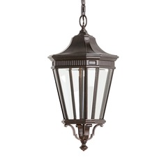 Feiss Lighting Cotswold Lane Grecian Bronze LED Outdoor Hanging Light