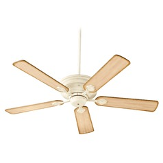 Quorum Lighting Barclay Satin Nickel Ceiling Fan Without