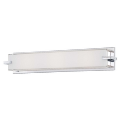 Cubism Ada Sconces Chrome Bathroom Light Vertical Or Horizontal Mounting