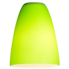 Light Green Conical Glass Shade