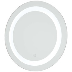 Oval 18-Inch Illuminated Mirror