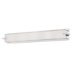 Cubism, Ada Sconces Chrome Bathroom Light - Vertical or Horizontal Mounting
