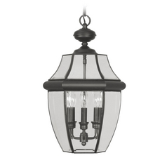 Livex Lighting Monterey Black Outdoor Hanging Light