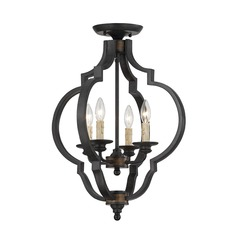 Savoy House Durango Semi-Flushmount Light
