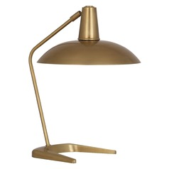 Mid-Century Modern Table Lamp Brass Enterprise by Robert Abbey