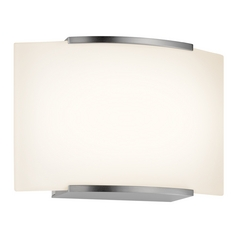 Sonneman Lighting Wave Satin Nickel LED Sconce