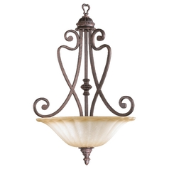Quorum Lighting Summerset Toasted Sienna Pendant Light