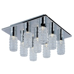 Polka 9-Light LED Flush Mount