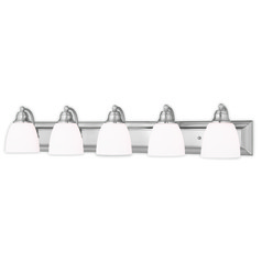 Livex Lighting Springfield Brushed Nickel Bathroom Light