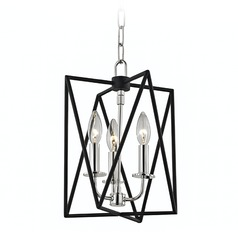 Hudson Valley Lighting Laszlo Polished Nickel Pendant Light