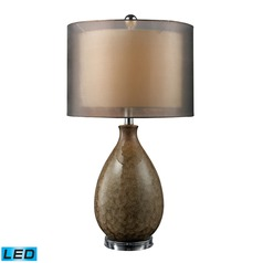 Dimond Lighting Francis Fawn LED Table Lamp with Drum Shade