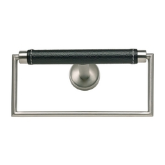 Modern Towel Ring in Stainless Steel Finish