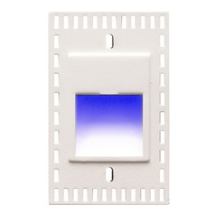 WAC Lighting Ledme White LED Recessed Step Light
