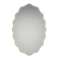 Reflections Oval 20-Inch Decorative Mirror