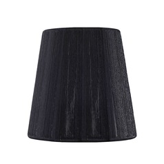Clip On Empire Black Lamp Shade