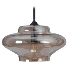 Kenroy Home Lighting Sanborn Oil Rubbed Bronze Pendant Light with Urn Shade