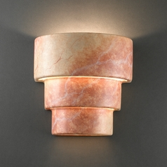 Sconce Wall Light in Agate Marble Finish