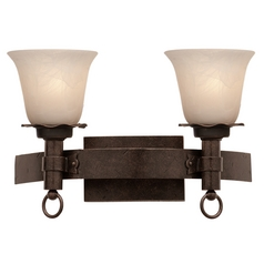 Kalco Lighting Americana Copper Claret Bathroom Light